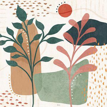 Blossom abstrait III, Veronique Charron