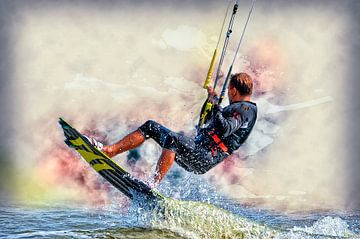 Kitesurfen sur Peter Roder