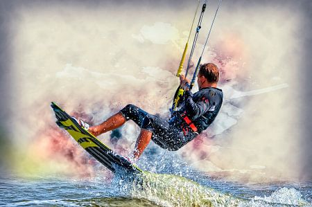 Kitesurfen von Peter Roder