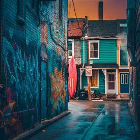 Canada Toronto graffiti neighbourhood kensington van Yannick Karnas