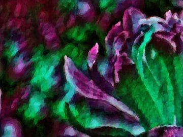 Magnolie 1 von Greta Lipman