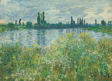 Die Seine bei Vétheuil - Claude Monet