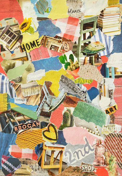 Recycling von Oldtimern Inspiration Recycling-Collage von Trinet Uzun