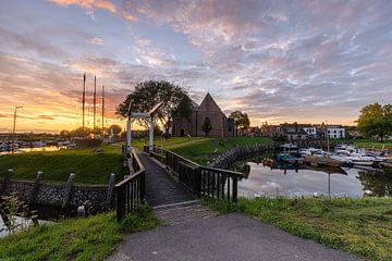 Sunrise Vollenhove van Jan Koppelaar
