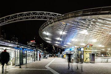 Gare de Rotterdam Blaak sur Eddy Westdijk