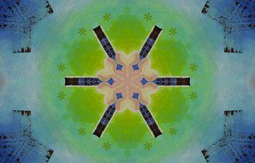 Blau-grüne Einheit von Greta Lipman