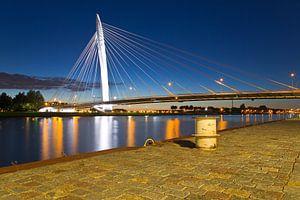 Nachtfoto Prins Clausbrug te Utrecht