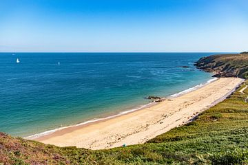 Strand in Bretagne van