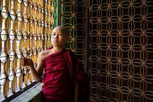 monnik in een klooster