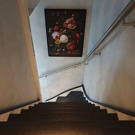 Photo de nos clients: Arrangement floral, Jan Davidsz. de Heem sur Meesterlijcke Meesters, sur toile