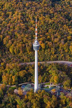 Fernsehturm in Stuttgart von Werner Dieterich