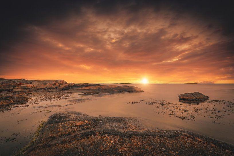 Steinküste in Schweden von Skyze Photography by André Stein