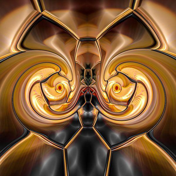 Phantasievolle abstrakte Twirl-Illustration 109/2 von PICTURES MAKE MOMENTS