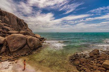 staren naar de Thaise zee van