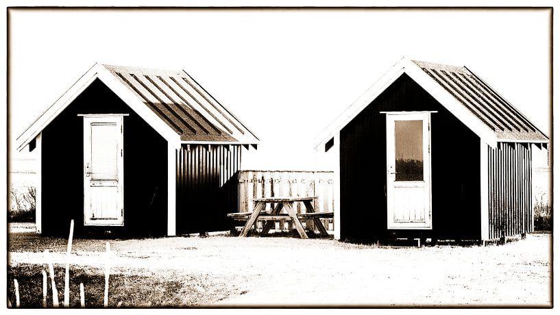 Kleine Hütten 3 von Kirsten Warner
