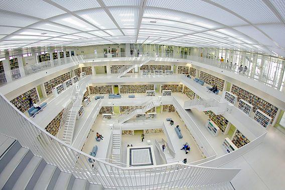 Stadtbibliothek Stuttgart van Patrick Lohmüller