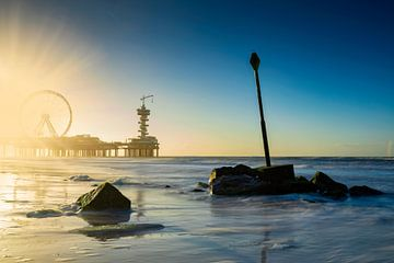 Grande roue sur le quai de Scheveningen sur gaps photography