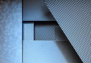 Gestructureerde metalen platen van Achim Prill