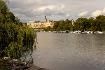 Stadtbildaufnahme von Stockholm in Schweden von Karijn Seldam