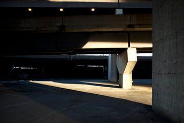 'Parkeerplaats', Chicago van Martine Joanne