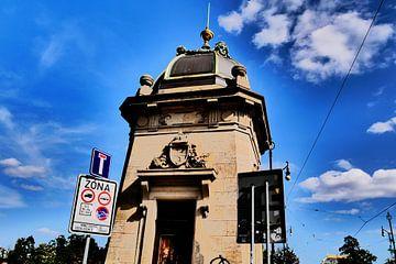 Prag - Gebäude der Brückenwache von Wout van den Berg