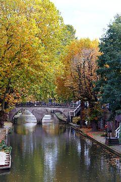 Utrechtse grachten in de herfst van TOUCH Fotografie