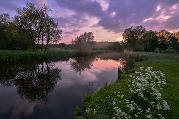Schöner Himmel vor Sonnenaufgang von Carla Matthee