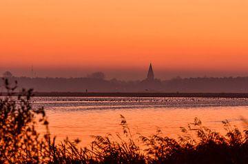 Zonsopkomst  / Sunrise van Henk de Boer