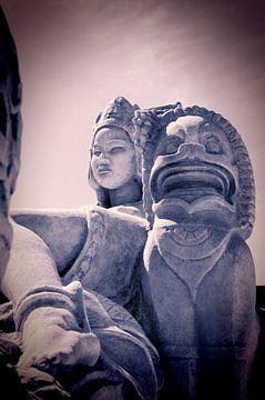 Sculptures - Les colonies d'Asie sur
