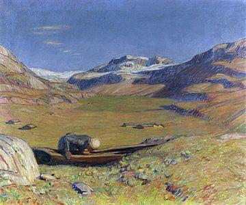 Sonniger Herbst, ERICH ERLER, Um 1900-1910 von Atelier Liesjes