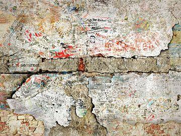 Werk aan de muur was het wel! van Jerome Coppo