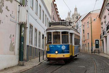 Lissabons enge Gassen von Daniel Van der Brug