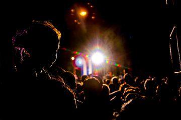 Concert buena vista social club en Silvio Rodriguez - Havana - Cuba van Annemarie Winkelhagen