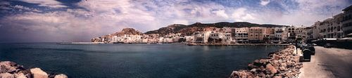 Panorama Pigadia Karpathos Griechenland von