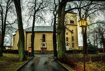 Kirche in Herold  Erzgebirge von Johnny Flash