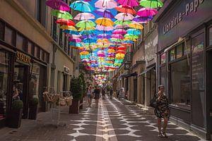 Kleuren van de straat van