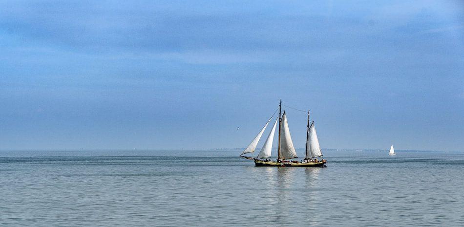 sail boat van Heinz Grates