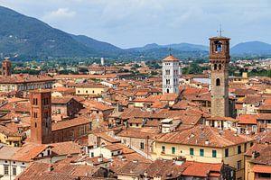 Lucca skyline