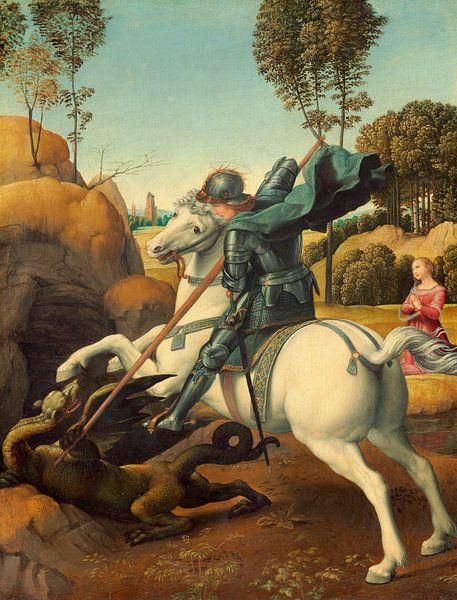 Saint George and the Dragon, Rafaël von Meesterlijcke Meesters