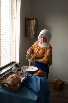 Moderne Milchmagd von Marijn Schraa