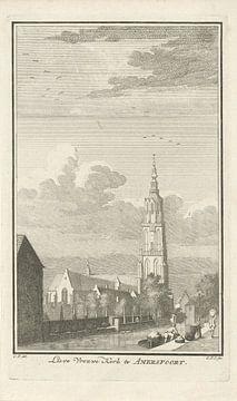 Ansicht der Liebfrauenkirche in Amersfoort, Caspar Jacobsz. Philips.