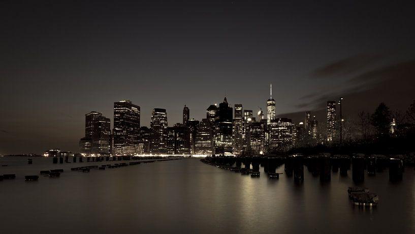 Skyline New York 4 van Bert Nijholt