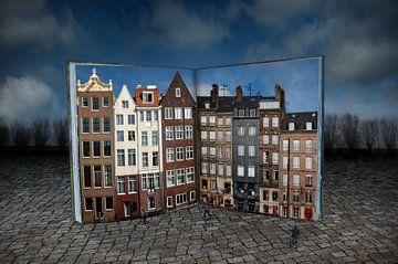 Surreale Stadt von Pat Desmet