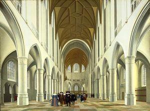 Haarlem, Inneres der Kirche Sint Bavo, Pieter Jansz. Saenredam - 1631