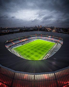 De Kuip - moeder aller stadions (verticaal) van Jeroen van Dam