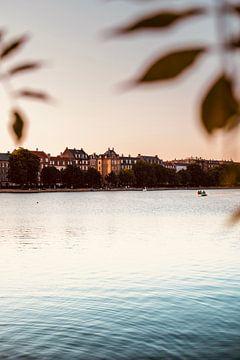 Mooi uitzicht op het water in Kopenhagen