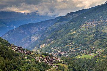 Het dal van Anniviers in Zwitserland von Dennis van de Water