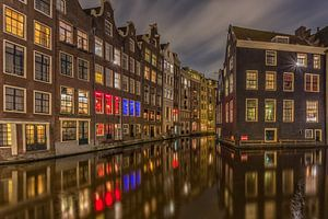 Amsterdam by Night - Oudezijds Voorburgwal - 1