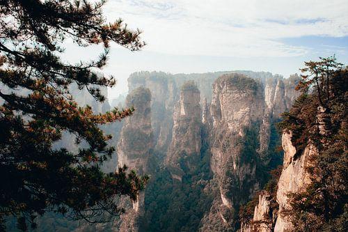 Hiken door Zhangjiajie