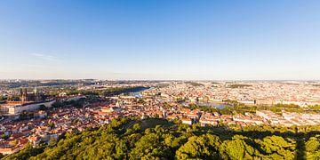 Panoramaaufnahme von Prag von Werner Dieterich